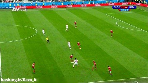 ایران - مراکش (کامل) ، گزارش فردوسی پور   جام جهانی2018