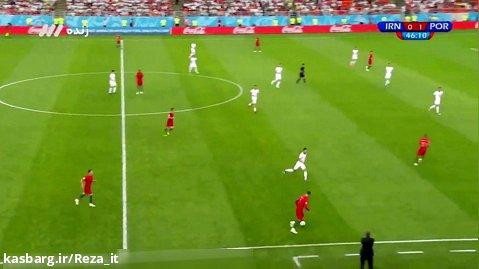 ایران - پرتغال (کامل) ، گزارش یوسفی :: جام جهانی 2018