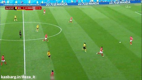 بازی کامل بلژیک انگلیس :: رده بندی جام جهانی 2018 روسیه