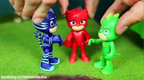 انیمیشن عروسکی گروه شب نقاب - اماده ای پسر گربه ای