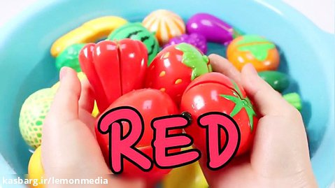اموزش زبان انگلیسی برای کودکان - میوه ها