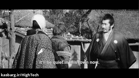 یوجیمبو ، آکیرا کوروساوا ، 1961 - صحنه الاغ Mifune Kicks