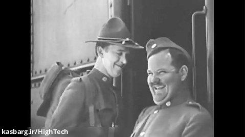 لورل و هاردی در فیلم با عشق و حسرت 1927