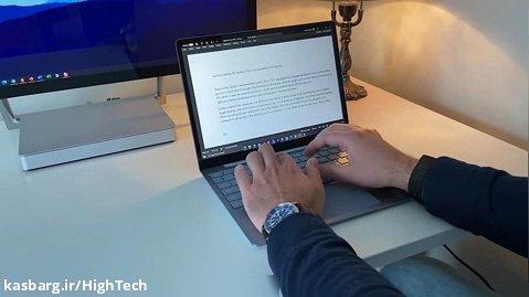 مرور مایکروسافت Surface Laptop Go - یک کامپیوتر کوچک و سرگرم کننده