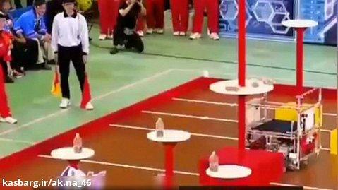 مسابقات رباتیک بین ربات های پرتابگربطری