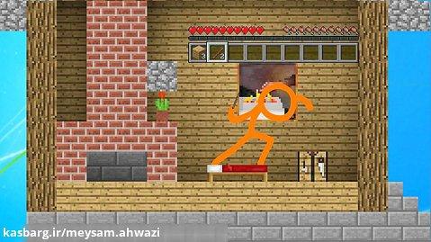 انیمیشن خطی ها / خطی ها بر علیه ماینکرافت / انیمیشن طنز / انیمیشن جدید