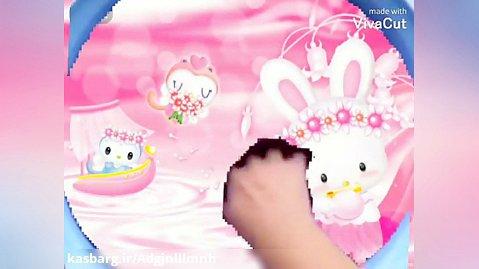 اسلایم خیلی کیوت خرگوش