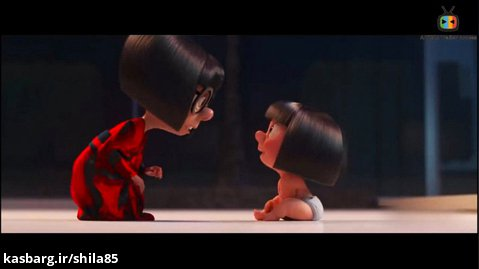 انیمیشن کوتاه ادنا مود و جک جک   Edna Mode  Jack-Jack   انیمیشن شگفت انگیزان