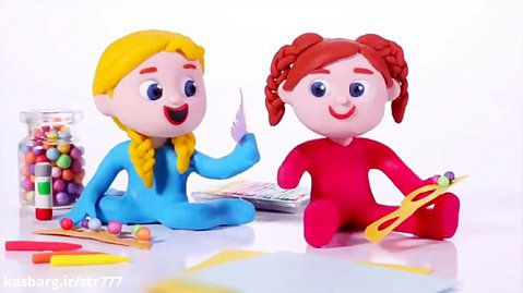 کارتون کودکانه السا و آنا | کاردستی های السا و آنا | برنامه کودک  |