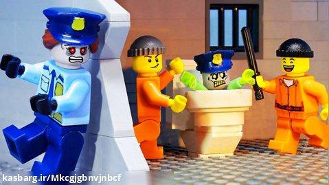 انیمیشن لگو زامبی__فرار از زندان