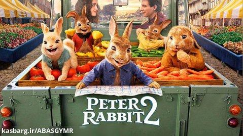 فیلم پیتر خرگوشه 2 Peter Rabbit2 2021 با دوبله فارسی