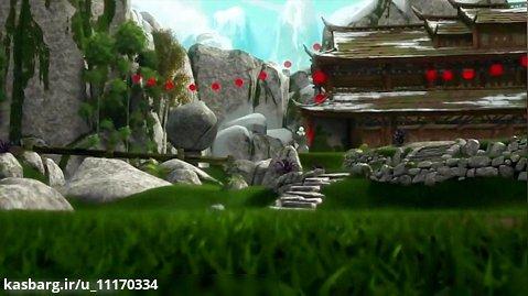 پاندای کونگ فو کار پنجه های سرنوشت فصل ۱ قسمت ۱ استاد اژدها وارد میشود