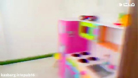 انیمیشن بازی کودکانه با سنیا / ماشین سواری عروسک کوچولو