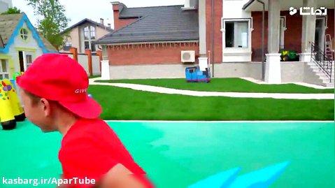 برنامه کودک سنیا و مامان / سرزمین بازی در حیاط خانه