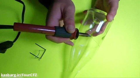 آموزش کاردستی ساخت کاردستی با وسایل بازیافتی قسمت نهم