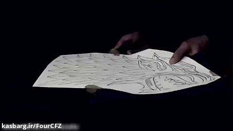 آموزش ساخت علامت استارک ها از بازی تاج و تخت
