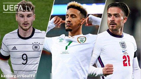 ورنر، رابینسون، گریلیش   بازیهای مقدماتی اروپا   گلهای بزرگ   هفته 7-8