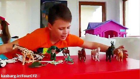 تفریحی و سرگرمی کودک :: آدریانا و شکلات و آب نبات اسرارآمیز